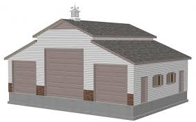 barn garage designs garage with loft plans build garage storage