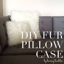 Pottery Barn Faux Fur Pillow Best 25 Fur Pillow Ideas On Pinterest Dusky Pink Cushions