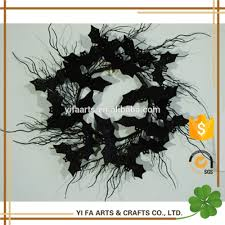 Halloween Tinsel Garland by List Manufacturers Of Halloween Black Pvc Wreath Buy Halloween
