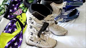 dirt bike racing boots motocross gear what you need to buy youtube