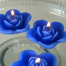 best 25 blue candles ideas on pinterest blue centerpieces