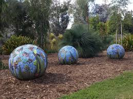 Ceramic Garden Spheres On Skid Row Rebuilding A Dream One Mosaic At A Time La Times