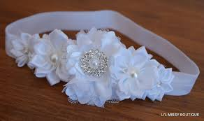 baby hair bands baby headbands headband flower girl newborn toddler hair band