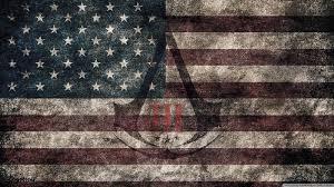 assassin u0027s creed iii american eroded flag hd desktop wallpaper