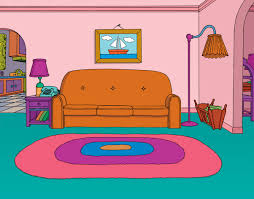 cartoon living room background living room background clipart 2007663