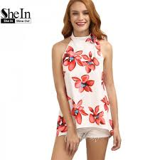 blouses for shein tops blouses for summer fashion multi color mock