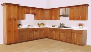 stainless steel kitchen cabinet doors l shape kitchen design and decoration using solid cherry wood