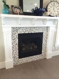 mosaic fireplace binhminh decoration