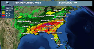 Weather Map New Orleans by Flooding Potential On The Rise Weathernation