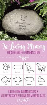 pet memorial garden stones 42 best diy pet memorials images on pet memorials