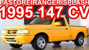 Yellow Ford Ranger Truck - pastore ford ranger splash 1995 at4 rwd 3 0 v6 147 cv ford youtube