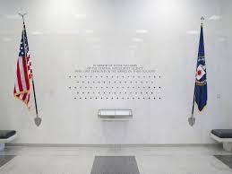 How Many Star On The American Flag Cia Memorial Wall Wikipedia