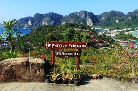 discovering phi phi island from up above phi phi viewpoint