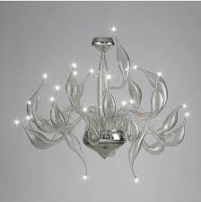 Art Glass Chandeliers Aliexpress Com Buy Italy Swan Chandelier Modern Murano