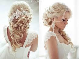 coiffure mariage cheveux lach s tendance coiffure mariée 2017 style cheveux courts longs