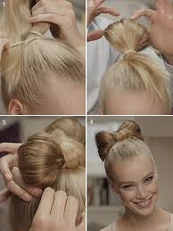 hair bow tie get the look step by step guide to the hair bow
