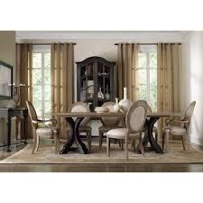 hooker furniture corsica 9 piece rectangular dining table set with