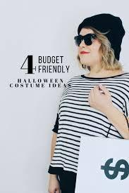 4 halloween costume ideas super easy budget friendly u0026 trendy