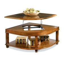 corner wedge lift top coffee table coffee table wedge lift top coffee table s corner dditionl wedge