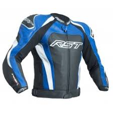 blue motorcycle jacket rst mens leather motorcycle jackets leather motorbike jackets
