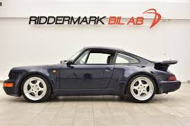 porsche blue racecarsdirect com porsche 911 964 turbo midnight blue 91
