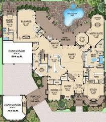 Mansion Layouts Plan W29876rl Mountain Country Craftsman Sloping Lot Vacation