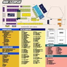 summer komikon 2016 floor plan with directory u2013 komikon