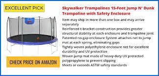 Safest Trampoline For Backyard by Best Trampoline Reviews 2017 Safest U0026 Top Rated Trampolines