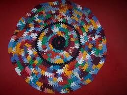Crochet A Rag Rug Making A Rag Rug Thriftyfun