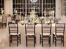wedding reception rectangle table layout nice decoration