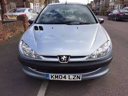 peugeot 206 1 4 8v s 5dr 2004 petrol1360 cc hatchback silver