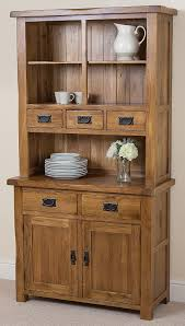 modern kitchen dresser cotswold rustic solid oak small welsh dresser 1 000 x 453 x 1 896