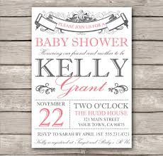 design baby shower invitations templates free download