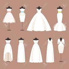 wedding dress clipart dress mannequin pencil and in color