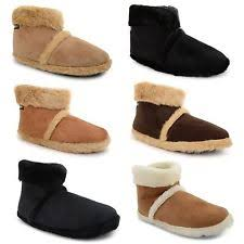 womens slipper boots size 12 coolers slip on slipper boots for ebay
