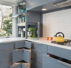 mid century kitchen with no upper cabinets google search