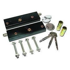 garage door key lock asec garage door bolt locks for extra security one pair operated