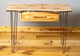 hair pin legs edge sofa table with metal hairpin legs