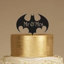 batman wedding topper batman wedding cake topper mr mrs cake topper rustic cake