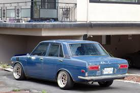 classic datsun 510 old parked cars vancouver 1969 datsun 510 sedan