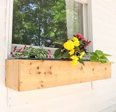 window flower boxes diy cool window flower boxes plans 16 for