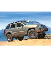 jeep light blue jeep grand cherokee wk stealth rack multi light setup with