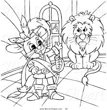 clipart of a coloring page outline design of puss in boots by a