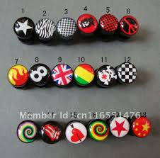 reggae earrings style hiphop rasta wholesale color mixed models silicone