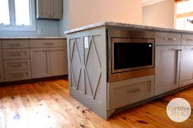 Space For Kitchen Island by Kitchen Furniture Attractive Kitchen Island Withcrowave Photo Page