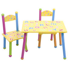 Toddler Table Chair Incredible Table And Chair Set For Kids With Kids Alphabet Table