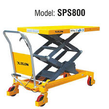 Pallet Lift Table by Double Scissors Lift Table Sps800