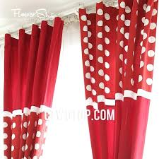 Red Polka Dot Curtains Red And White Curtains U2013 Teawing Co