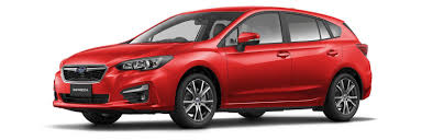 2017 subaru impreza hatchback red impreza subaru of new zealand