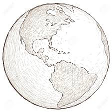 drawn globe royalty free pencil and in color drawn globe royalty